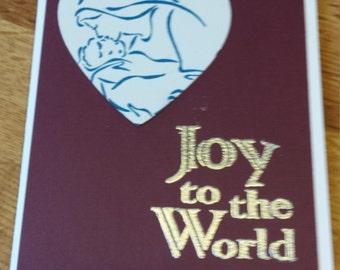 Christmas bible verse wall art Joy to the World