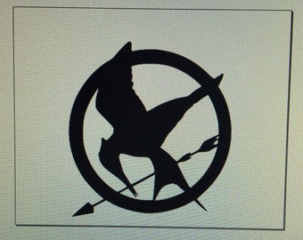 "The Hunger Games MockingJay Decal/Sticker Trio 6""x6.25"" *Free Ship*"