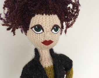 Roseanna: a Knitted Doll
