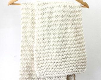SIMONE 100% wool scarf
