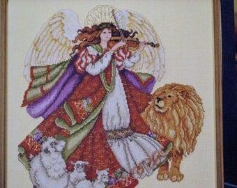 Angel of Peace Cross Stitch Chart