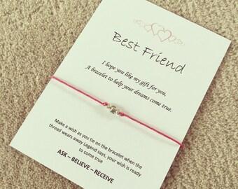Bestfriend wish bracelet