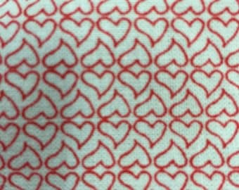 100% cotton Little sweetheart RED 58 in w Fabric by the yard