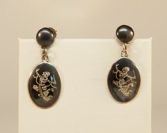 Vintage Ear Rings from Siam with Screw Backs