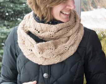 Alpaca eternity scarf