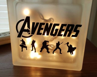 Avengers Nightlight