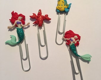 Sea Princess // Paperclip Set Planner Accessories Disney Paperclips