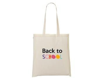 Tote bag fun back to school