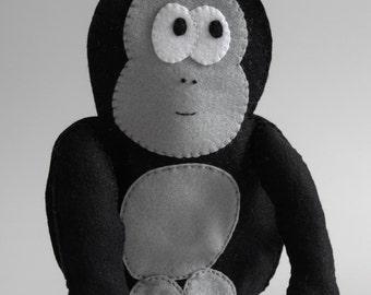 Gorilla - ape, halloween, wildlife, nature, chimpanzee, king kong -