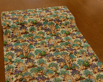 The Potting Shed Earth Toned Quilting Fabric