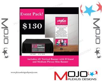 Plexus Event Pack! Includes 2 banners