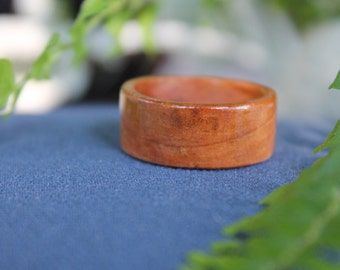 Hand Turned Wood Ring 11