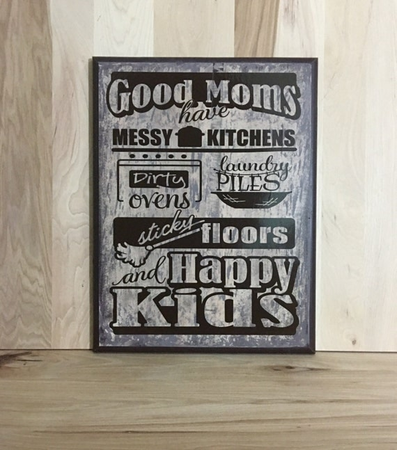 Good Moms Custom Wood Sign Home Decor Gift For Mother
