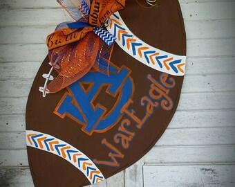 Auburn Football Door Hanger War Eagle