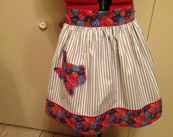 """My """"Lone Star State"""" Texas apron will fill some girls heart with pride ! Monogram extra. SML"""