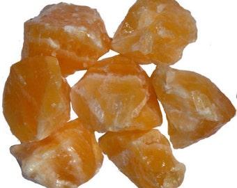 Raw Orange Calcite