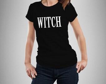 Witch - Women's T-Shirt - Black - Alternative / Gothic
