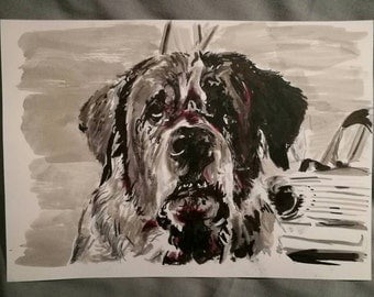 Stephen King: Cujo Ink Drawing