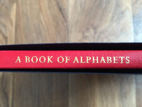 The book of Alphabets for Douglas Cleverdon drawings by Eric Gill