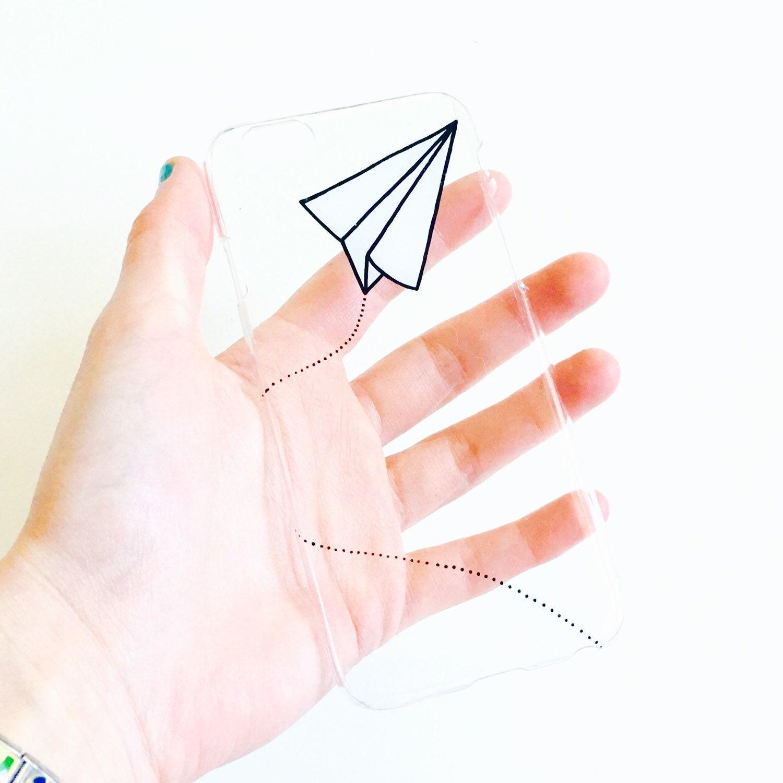paper plane origami phone case iphone samsung