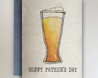 Happy Fathers Day Card - Hoppy Father's Day Card: Beer Hops/Users/MJ/Desktop/SurfariStudios/Envelopes/ENVELOPECOLORS3.jpg