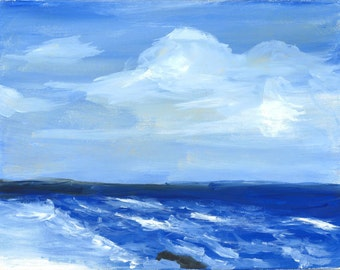 Ocean Scene (print)