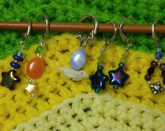 Top Down Knitting Stitch Markers