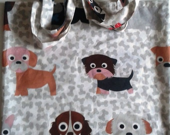 Market bag for dog lovers