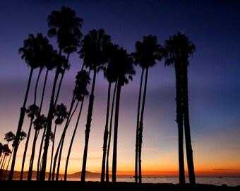 East Beach Sunrise  Santa Barbara Ca