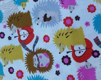 Happy Hedgehog Soft Sole Moccasins