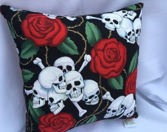 Day of the Dead Pillow 9x9~