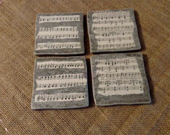 Music Coasters (Set of 4)