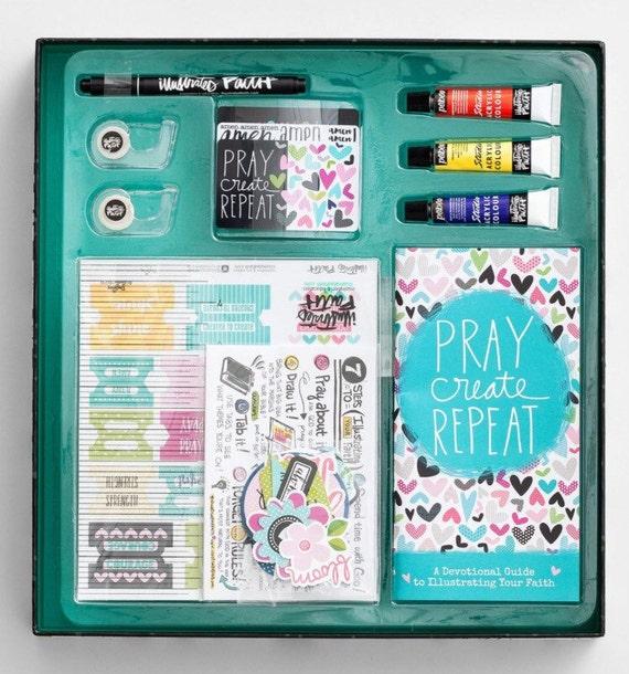 Illustrated Faith Bible Journaling Starter Kit!!! Ready to ship!!
