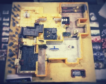 """Game Imperial Assault """"Abordsde mos eisley"""""""