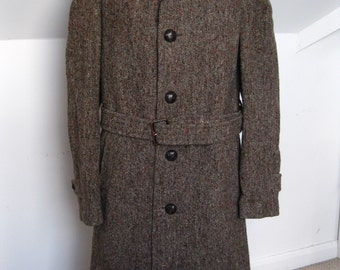 Mens Aquascutum Pure Virgin wool Trench Coat Size 40