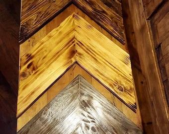 Arrow Head Chevrons, Wall decor, House Warming, Custom Colors