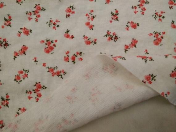 Kids baby print rib knit fabric 100 cotton by yard 1 2 yard for Knit fabric childrens prints