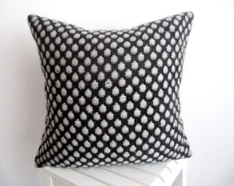 Knit Atessa Pillow Cover,Dot Pillow Case,Dot Cushion Cover,Decorative Pillow,Knit Pillow,Dot Throw Pillow Couch 18''