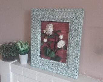 Box Frame Picture with Roses