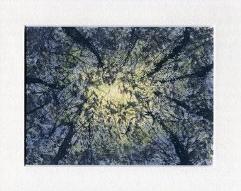 Look Up - ORIGINAL WATERCOLOUR Painting