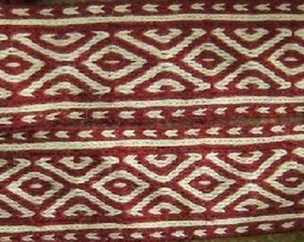 Tablet weaving braid, 100% linen, Tablet weaving, Card weaving,