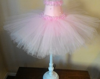 Pink Tutu Lamp Shade