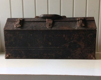 Sherman-Klove Co. Tool Box/S. K. Tools/The Sherman Klove Co., Chicago, Illinois /Vintage Toolbox/Toolbox Collectors/Industrial Collectors