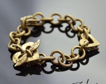 Bracelet On the Wings of Love Bronze