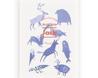 Birth Card Jack
