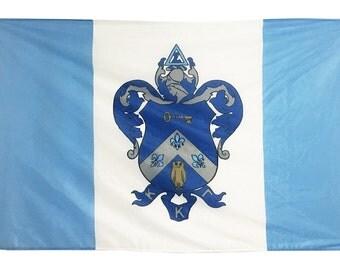 Kappa Kappa Gamma Flag - 3' X 5' Officially Approved