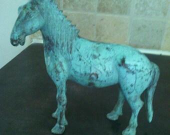 Former bronze horse