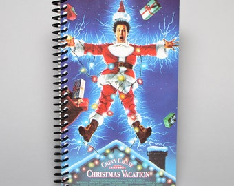 National Lampoon's Christmas Vacation VHS Box Recycled Notebook