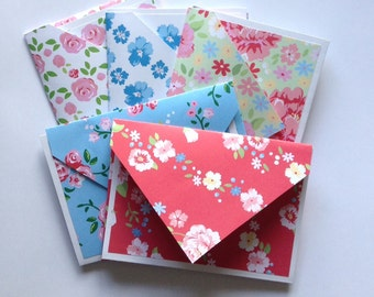 Flower cards, Gift cards, flower stationery, rose cards, floral cards, note cards, Cards and envelopes, blank inside, gift idea