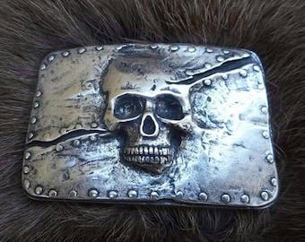 Skull/Pirate Belt buckle, buckle, buckle